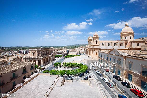 City of Noto, view of the Noto cathedral