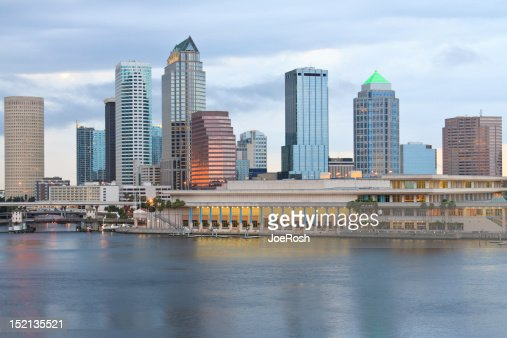 City Of Tampa Florida Skyline