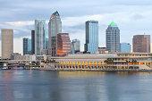 City Of Tampa Florida Skyline