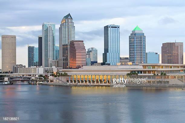 フロリダ州タンパの街の眺め