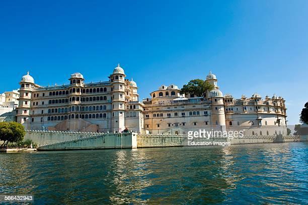 City Palace Pichola Lake Udaipur Rajasthan