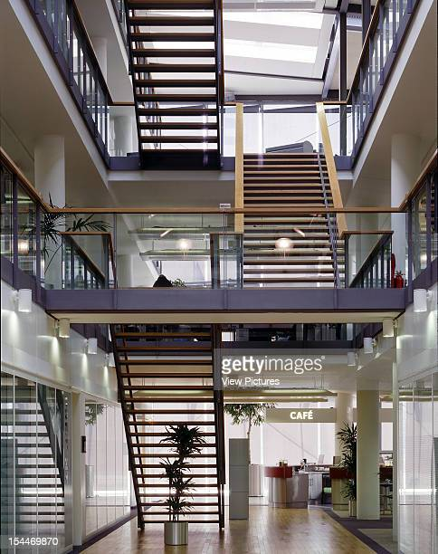 City Place Gatwick Gatwick United Kingdom Architect Bennetts Associates City Place Gatwick Stair