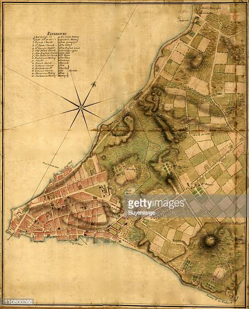 City Plan New York New York 1776