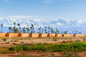 City Ramparts, High Atlas, Marrakech