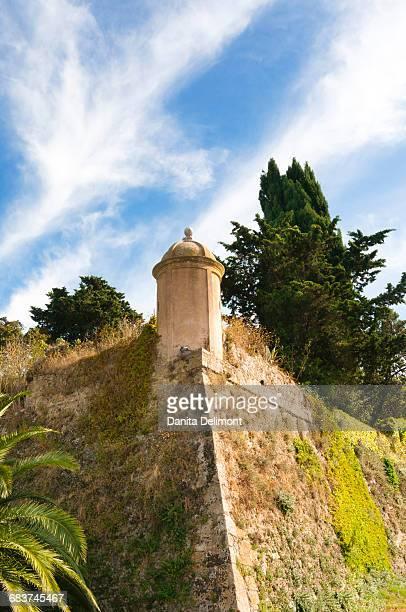 City ramparts, Orbetello, Grosseto province, Tuscany, Italy