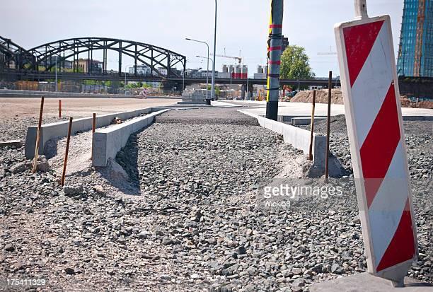 City Road en cours de Construction