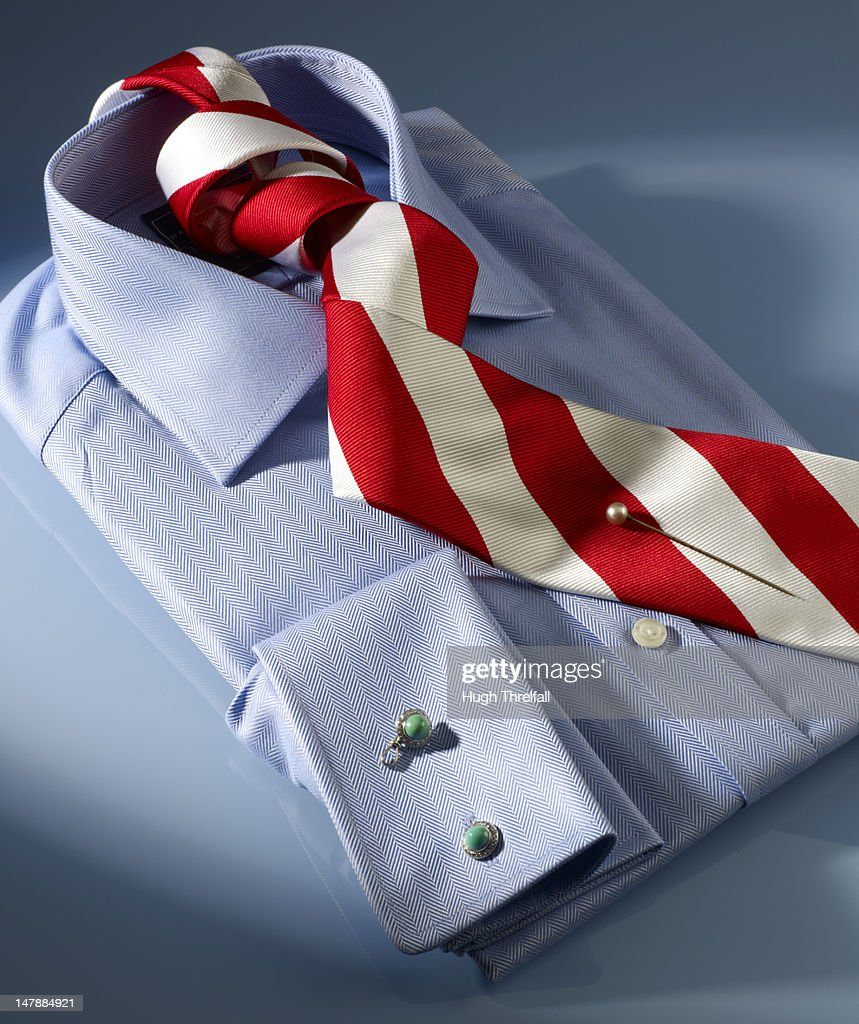 City shirt and tie : Stock Photo