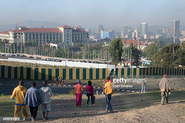 City skyline. Addis Abeba. Ethiopia.