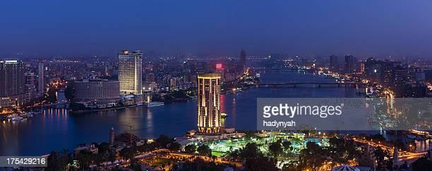 City skyline - Cairo at dusk