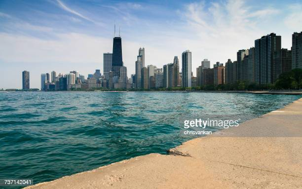 City skyline, Chicago, Illinois, America, USA