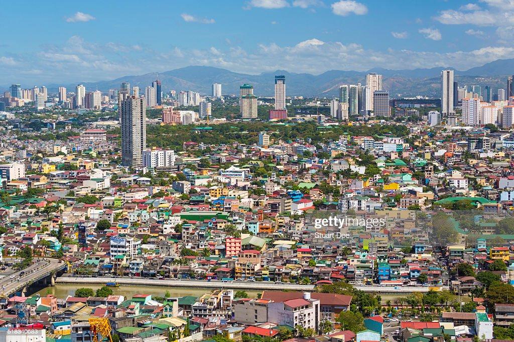 City skyline, Manila
