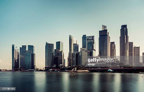 City skyline of Singapore in daytime