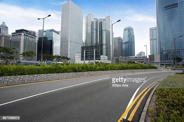 City Streets of Hong Kong