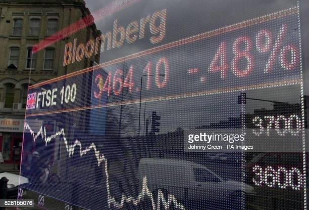 City traders were left biting their nails again as the FTSE 100 Index plunged deep into the red for the second straight session todayThursday 6...