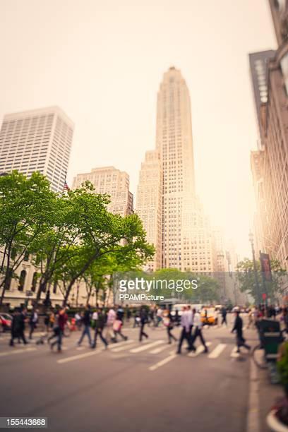 NY City Traffic, Tilt Shift