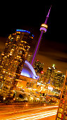 The city of Toronto offers a vibrant night time energy with a charismatic flush of excitement and adventure.