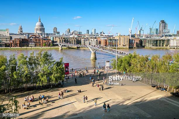 City view of London with River Thames