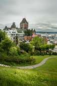 City view of old Quebec City, Quebec