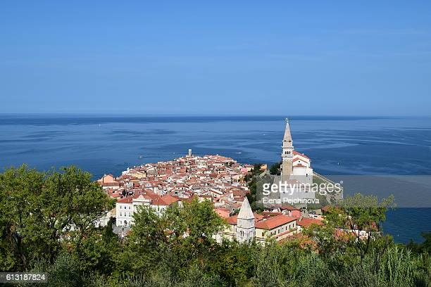 City view, Piran