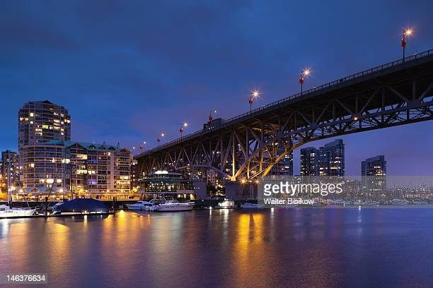 City view with Granville Bridge