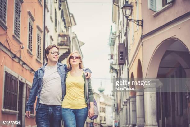 City walk, Italy