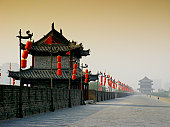 City Wall, Xian, Shaanxi, China