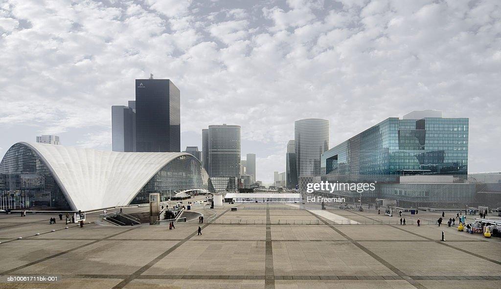 Cityscape and Place de Parvis