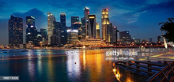 Cityscape at Marina Bay Singapore