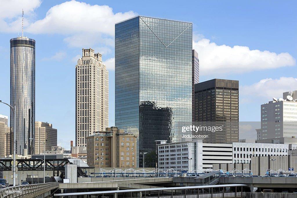 Cityscape: Atlanta Georgia Skyline Daytime