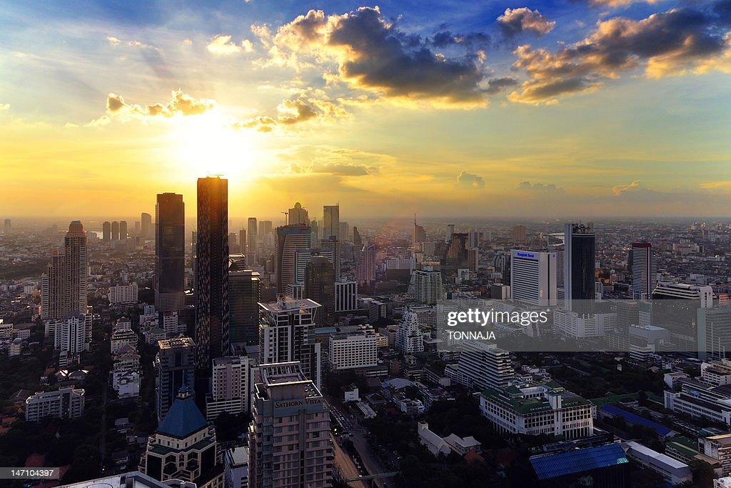 Cityscape bangkok : Stock Photo