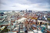 Cityscape Liverpool, England.
