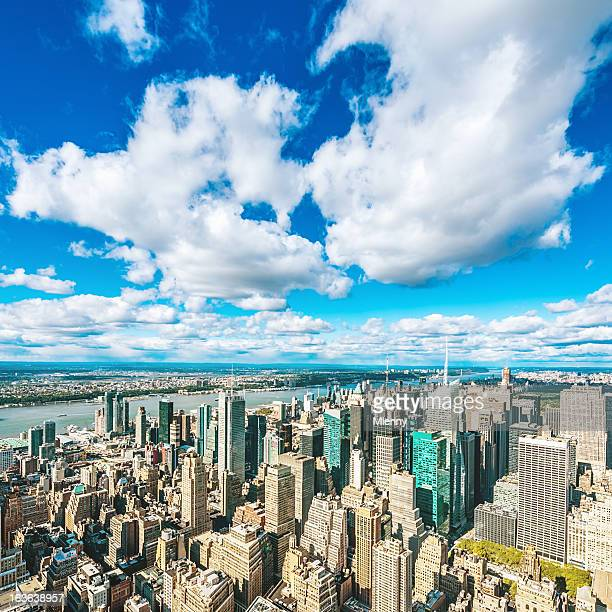 Cityscape New York City Manhattan View