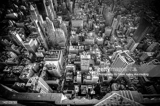 Cityscape, New York City (B&W)