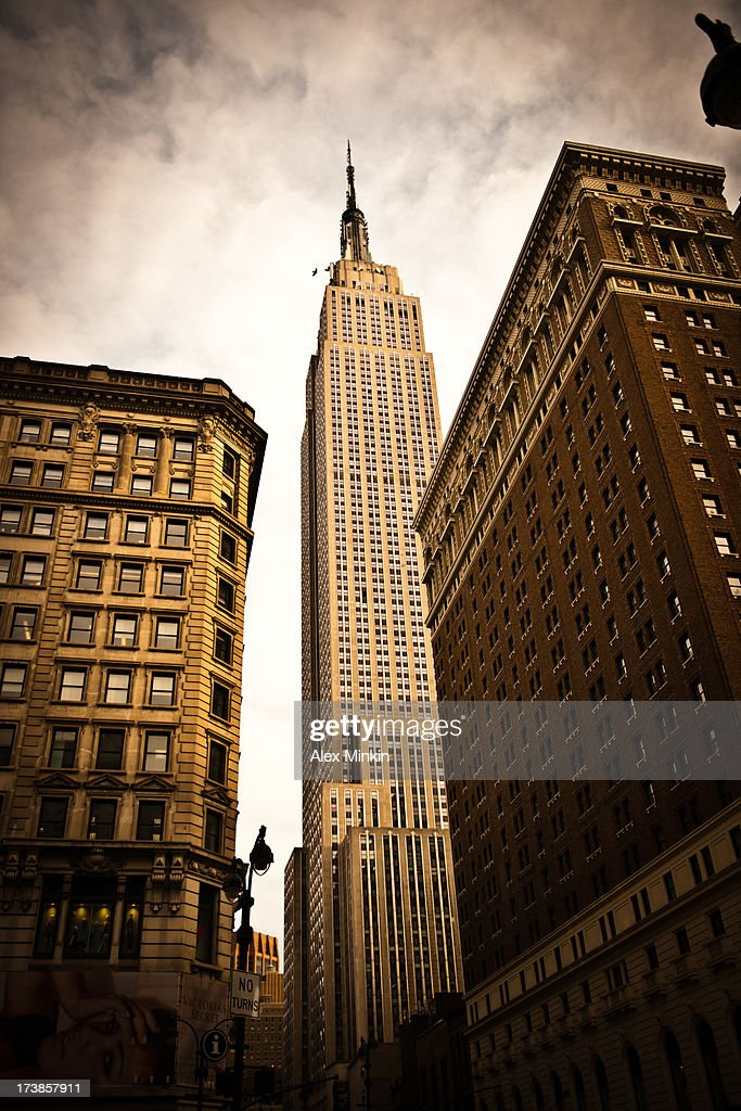 Cityscape NYC Empire State Building 2