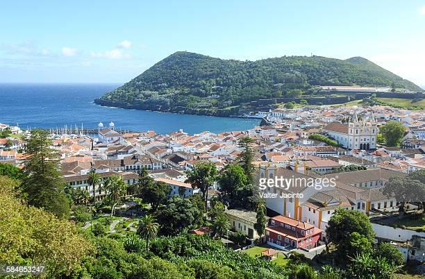 Cityscape of Angra do Heroísmo, Azores