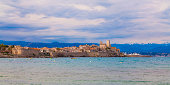 Cityscape of Antibes, Cote d'Azur, France