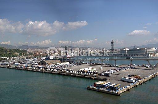 Cityscape of Barcelona : Foto stock