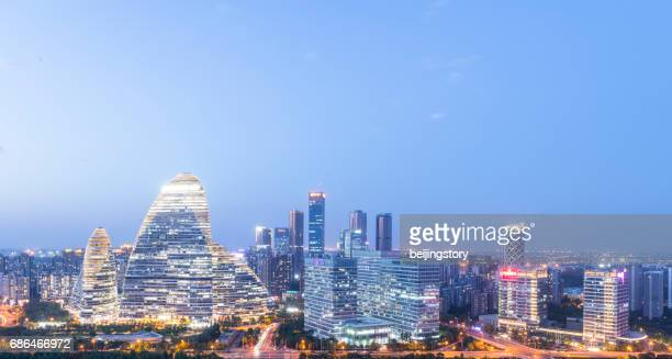 Cityscape of Beijing,China