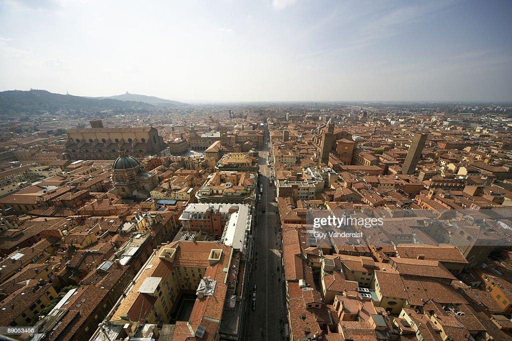 Cityscape of Bologna,Italy : Stock Photo