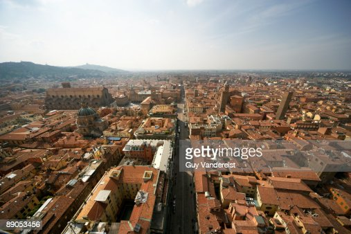 Cityscape of Bologna,Italy : Stock Photo