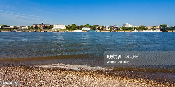 Cityscape of Bonn with Rhine River