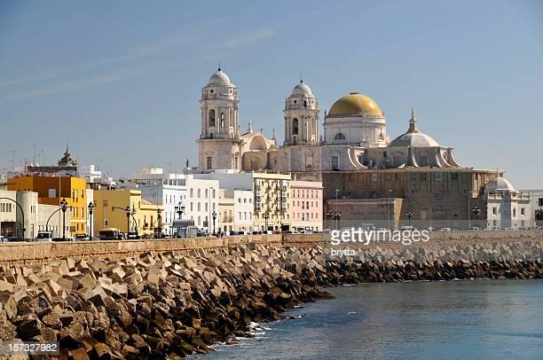 Cityscape of Cádiz:Paseo Campo del Sur, Spain
