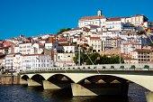 Cityscape of Coimbra university