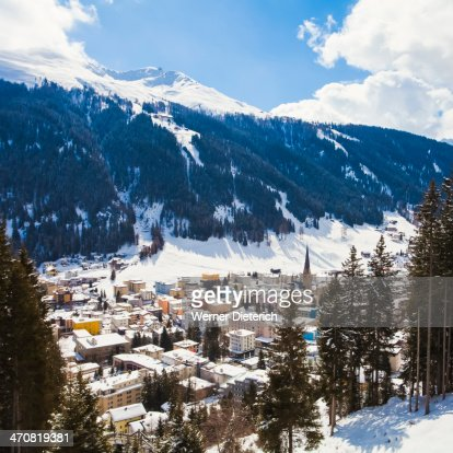 Cityscape of Davos