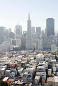 Cityscape of downtown San Francisco, California