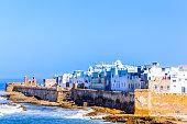 View on Cityscape of Essauira in Morocco