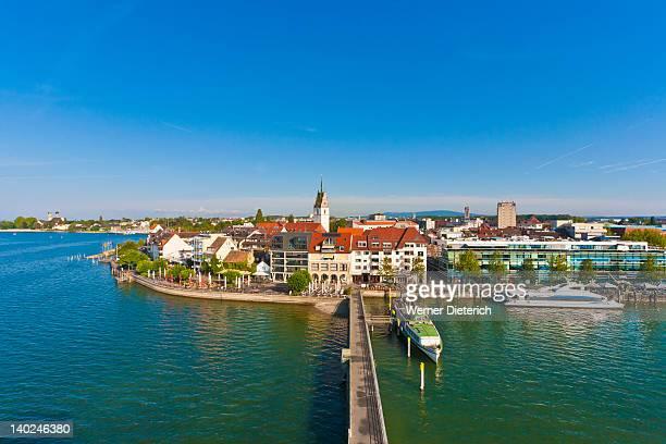 Cityscape of Friedrichshafen, Lake Constance