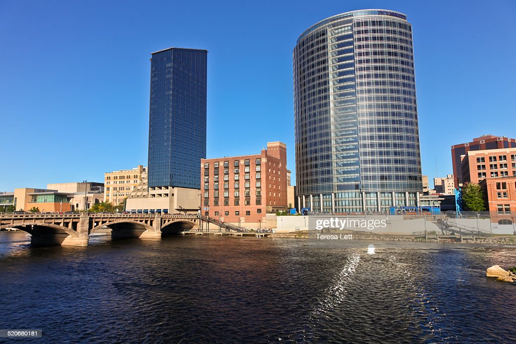 Cityscape of Grand Rapids, Michigan