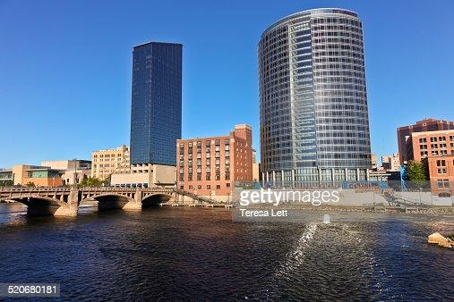 Cityscape of Grand Rapids, Michigan