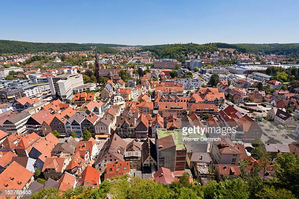 Cityscape of Heidenheim, Germany